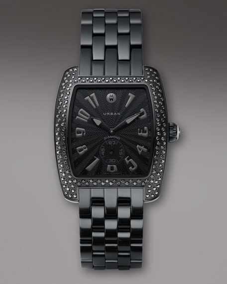 Urban Diamond Noir Bracelet Watch
