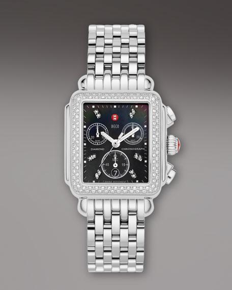 Deco Diamond Bracelet Watch