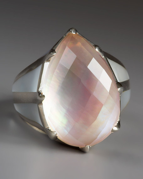 Mother of Pearl Rapture Ring