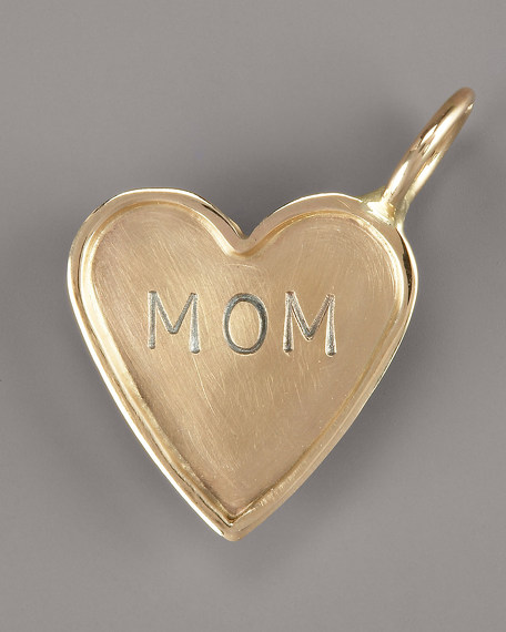 Heather Moore Mom Heart Charm