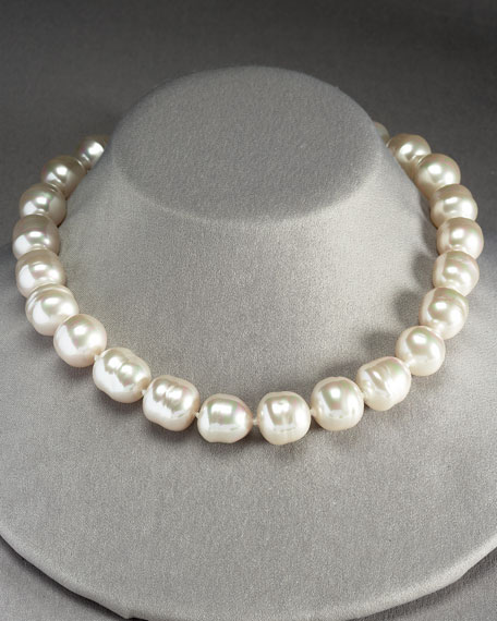 16mm Baroque Pearl Necklace