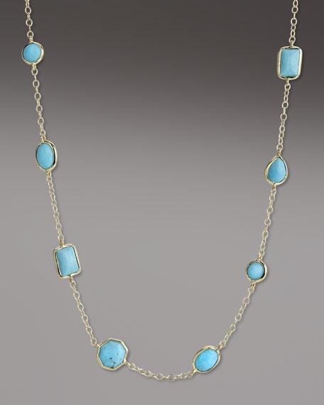 Turquoise Gelato Necklace, Mini