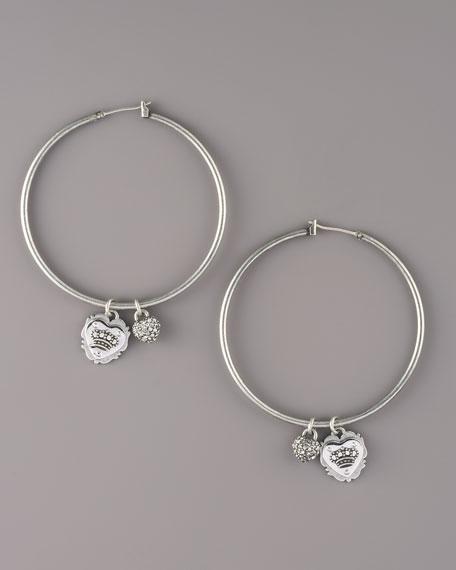 Shield Hoop Earrings