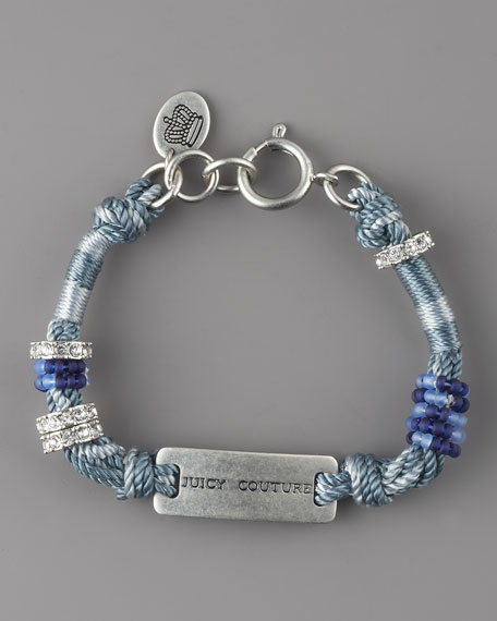 Juicy ID Bracelet, Blue