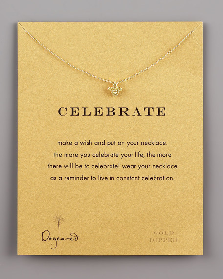 Celebrate Fleur-de-Lis Necklace