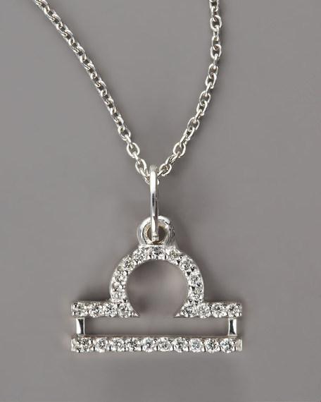 Libra Diamond Necklace