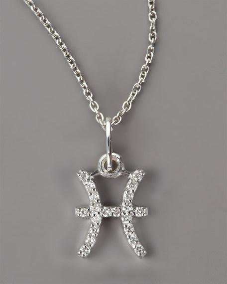 Pisces Diamond Necklace