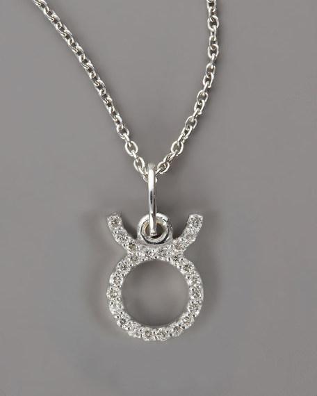Taurus Diamond Necklace