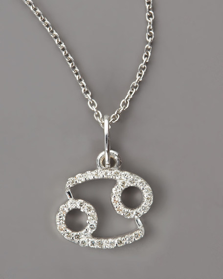 Cancer Diamond Necklace