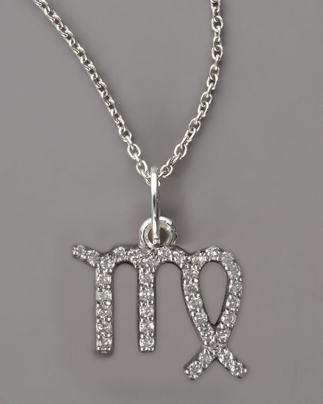 Virgo Diamond Necklace