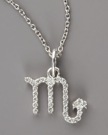 Scorpio Diamond Necklace