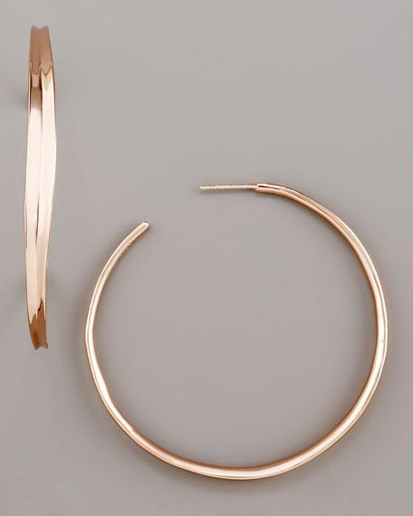 Fettucine Hoop Earrings