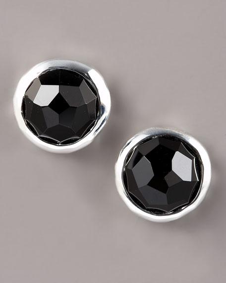 Sterling Silver Black Onyx Earrings