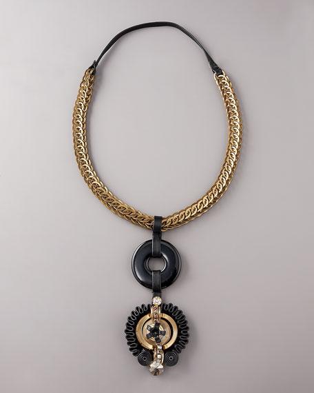 Nouveau Pendant Necklace