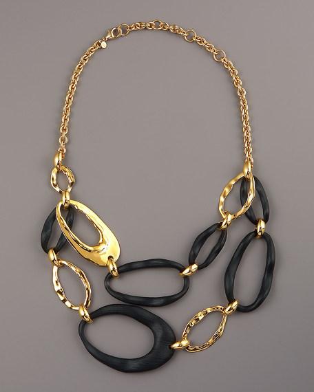 Wavy Link Necklace