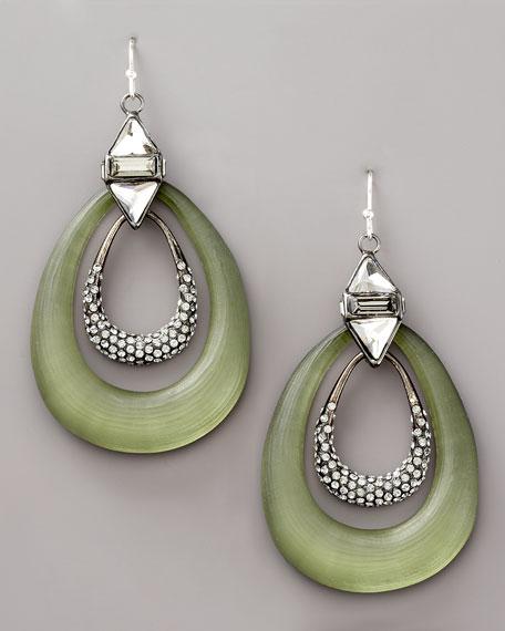Art-Deco Interlock Earrings