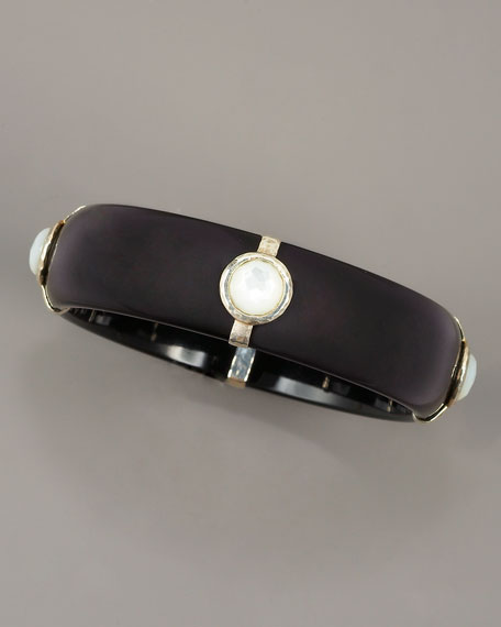 Mother-of-Pearl Stations Bangle