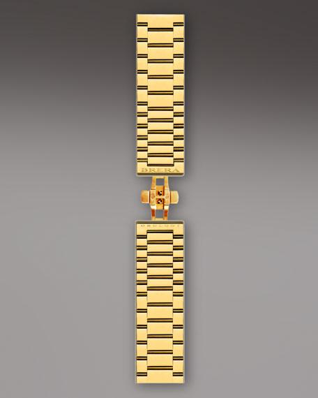 Yellow Golden Stella Bracelet Strap, 22mm