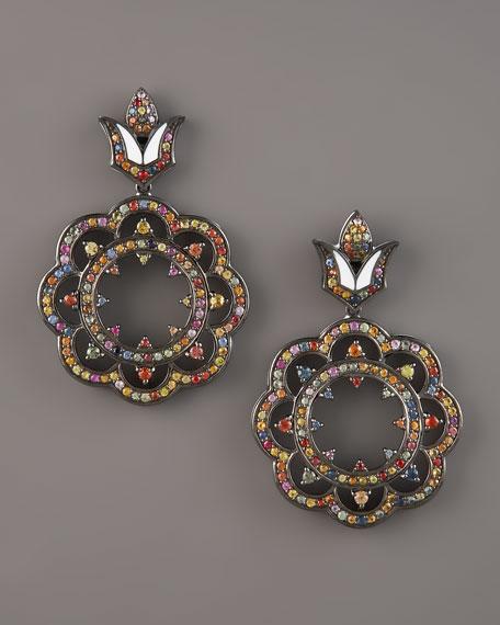 Lace-Drop Earrings