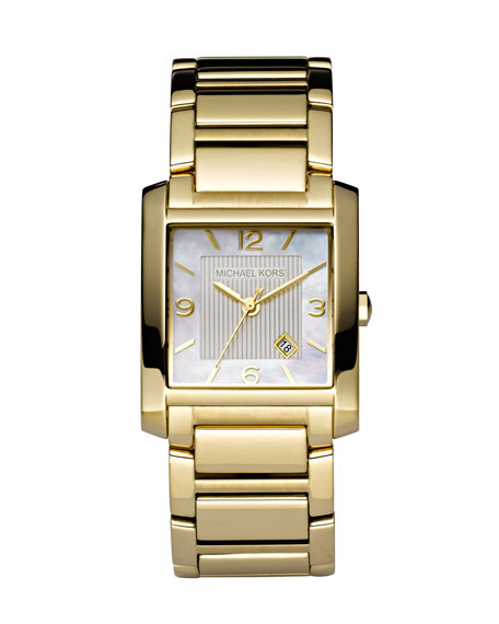 Square Watch, Golden