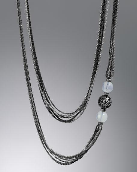 Moon Quartz Chain Necklace