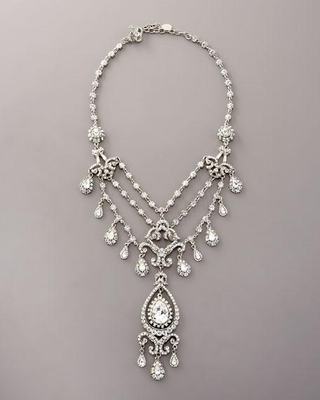 Crystal Drape Necklace