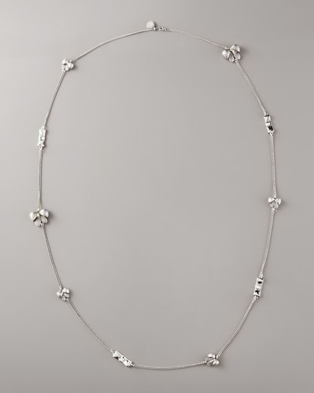 Anabella Long Bow Necklace