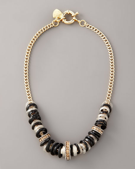 Zebra-Stripe Necklace