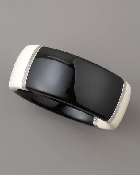 Silver-Wrap Bangle
