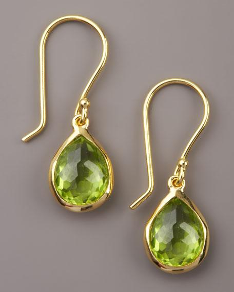 Peridot Teardrop Earrings