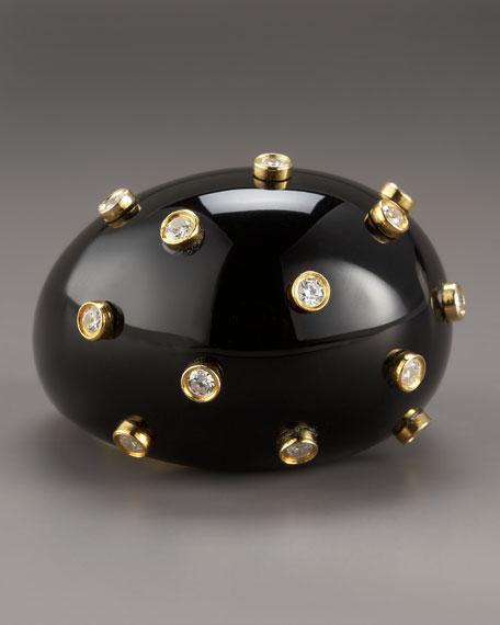 Cubic Zirconium Bubble Ring