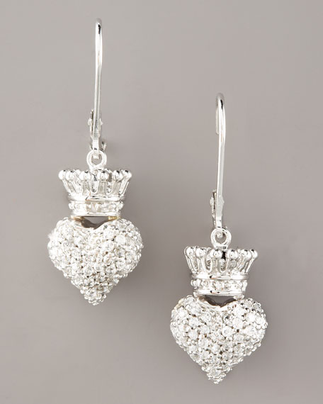 Crowned Heart Earrings