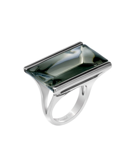 So Insomnight Sterling Silver Mordore Ring, Small
