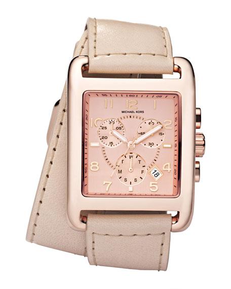 Double-Wrap Watch, Vachetta