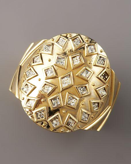 Shield Cuff Bracelet