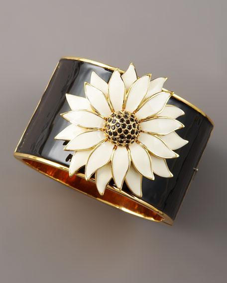 flower hinge bracelet