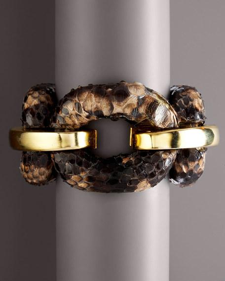 Tiger Python Bracelet
