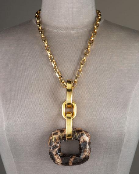 Square Python Necklace
