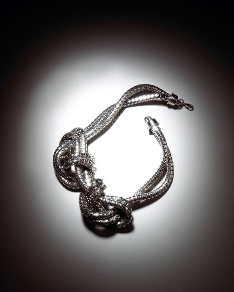 Knotted Snake Necklace