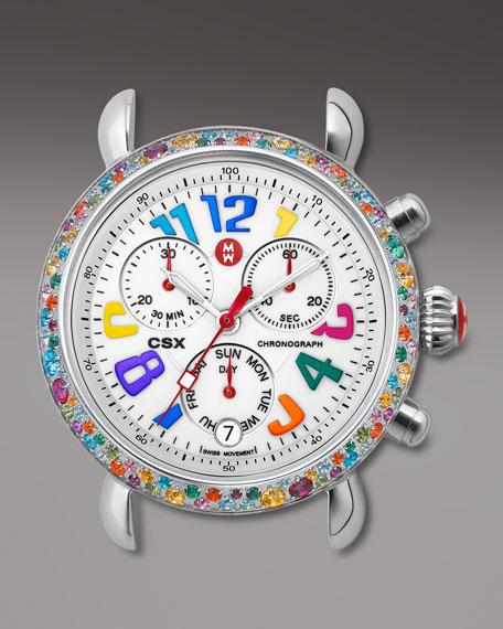 CSX Carousel Topaz-Bezel Watch Head