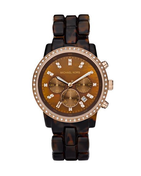 Tortoise Show Stopper Glitz Watch