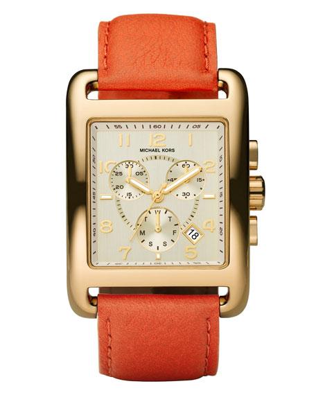 Leather Bracelet Square Watch