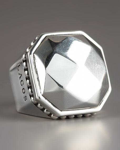 Sterling Rocks Ring, 27MM