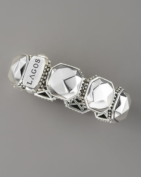 Rocks Hinged Bracelet