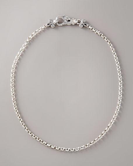 Snake-Clasp Necklace