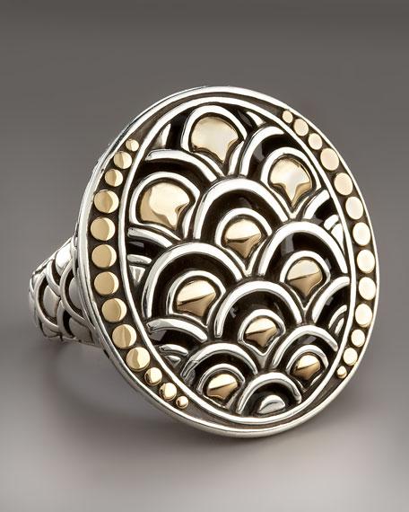 Naga Oval Ring