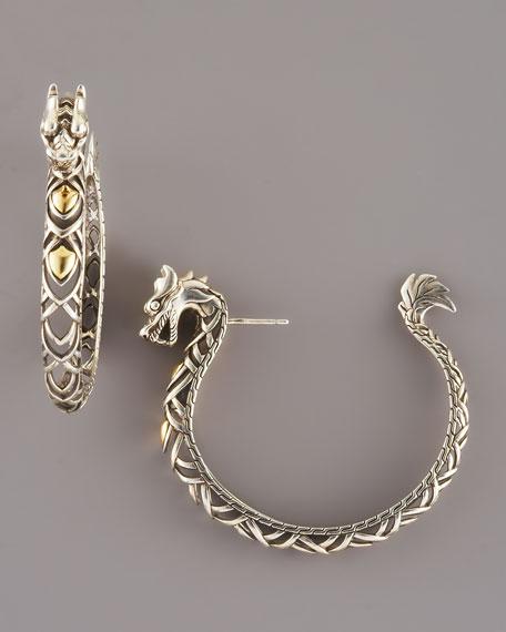 Naga Hoop Earrings