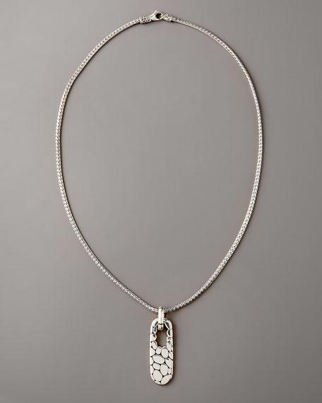 Kali Rectangle Pendant Necklace