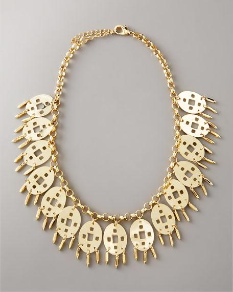 Fringe Drop Necklace
