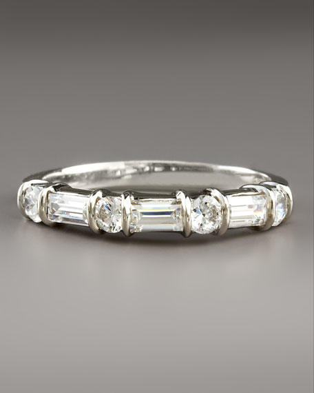 Cubic Zirconia Eternity Ring